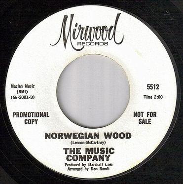 MUSIC COMPANY - NORWEGIAN WOOD - MIRWOOD dj