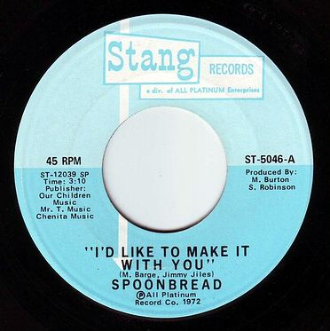 SPOONBREAD - I'D LIKE TO MAKE IT WITH YOU - STANG
