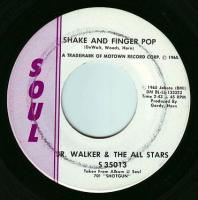JR WALKER & THE ALL STARS - SHAKE AND FINGER POP - SOUL