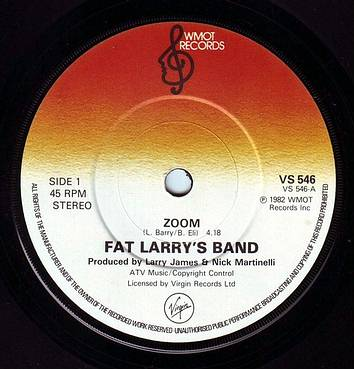 FAT LARRY'S BAND - ZOOM - WMOT
