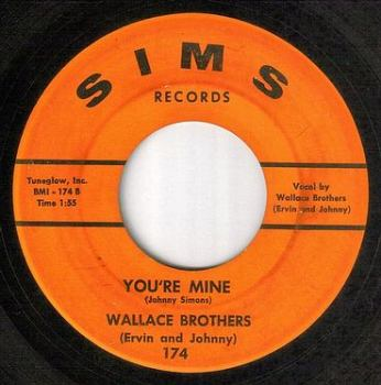 WALLACE BROTHERS - YOU'RE MINE - SIMS