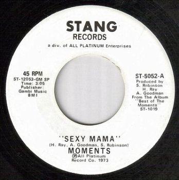 MOMENTS - SEXY MAMA - STANG dj