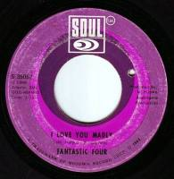 FANTASTIC FOUR - I LOVE YOU MADLY - SOUL