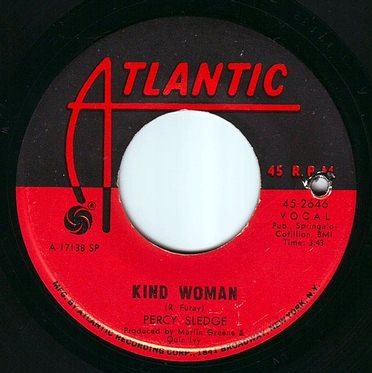 PERCY SLEDGE - KIND WOMAN - ATLANTIC