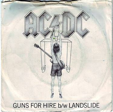 AC/DC - GUNS FOR HIRE - ATLANTIC