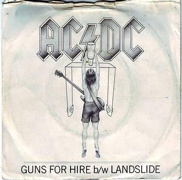 AC/DC - GUNS FOR HIRE - ATLANTIC