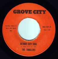 THRILLERS - DETROIT CITY SOUL - GROVE CITY