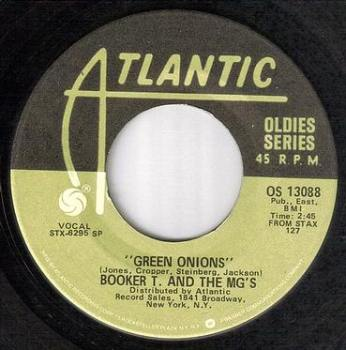 BOOKER T & THE MG's - GREEN ONIONS - ATLANTIC