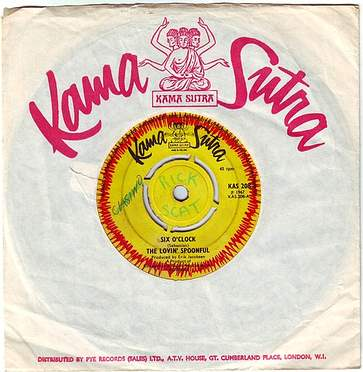 LOVIN' SPOONFUL - SIX O' CLOCK - KAMA SUTRA