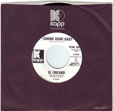 EL CHICANO - COMING HOME BABY - KAPP DEMO