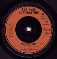 HUES CORPORATION - ROCK THE BOAT - RCA
