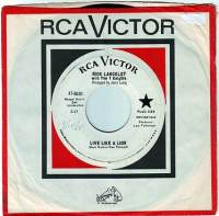 RICK LANCELOT & The 7 KNIGHTS - LIVE LIKE A LION - RCA DEMO