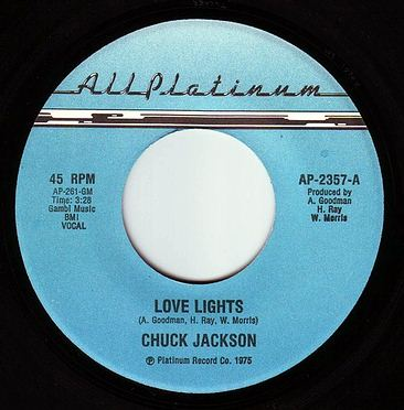 CHUCK JACKSON - LOVE LIGHTS - ALL PLATINUM