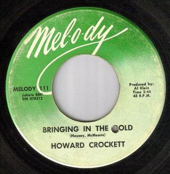 HOWARD CROCKETT - BRINGING IN THE GOLD - MELODY