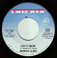 MAURICE & MAC - LAY IT ON ME - CHECKER