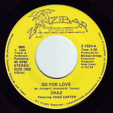 CHAZ - GO FOR LOVE - ZANZIBAR
