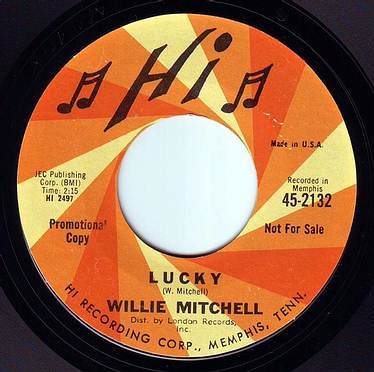 WILLIE MITCHELL - LUCKY - HI DEMO