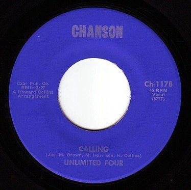 UNLIMITED FOUR - CALLING - CHANSON