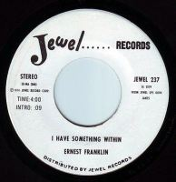 ERNEST FRANKLIN - I HAVE SOMETHING WITHIN - JEWEL