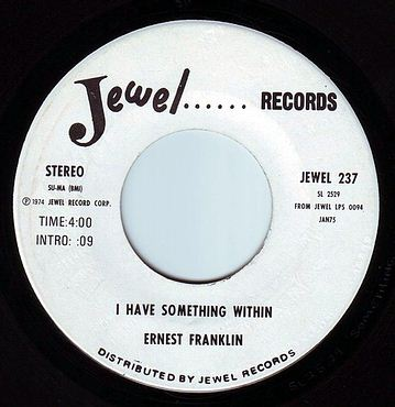 ERNEST FRANKLIN - I HAVE SOMETHING WITHIN - JEWEL