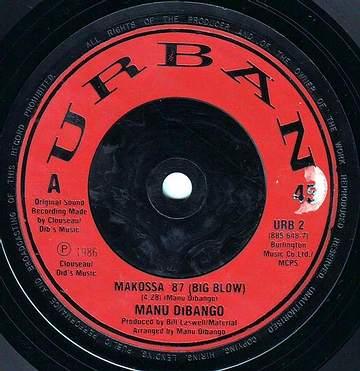 MANU DIBANGO - MAKOSSA 87 (BIG BLOW) - URBAN