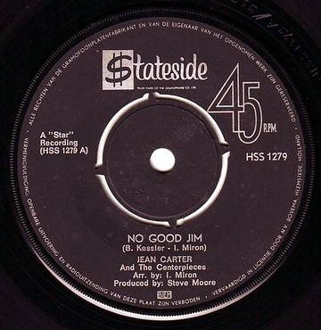 JEAN CARTER - NO GOOD JIM - STATESIDE