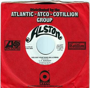 J.P. ROBINSON - YOU GOT YOUR THING ON A STRING - ALSTON DEMO