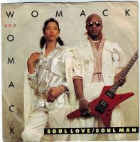WOMACK & WOMACK - SOUL LOVE / SOUL MAN - MANHATTAN