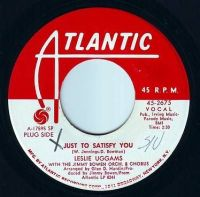 LESLIE UGGAMS - JUST TO SATISFY YOU - ATLANTIC DEMO