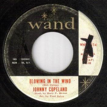 JOHNNY COPELAND - BLOWING IN THE WIND - WAND