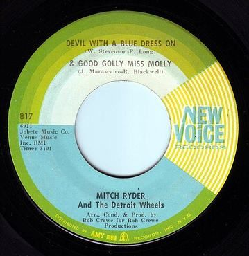 MITCH RYDER - DEVIL WITH A BLUE DRESS ON - NEW VOICE