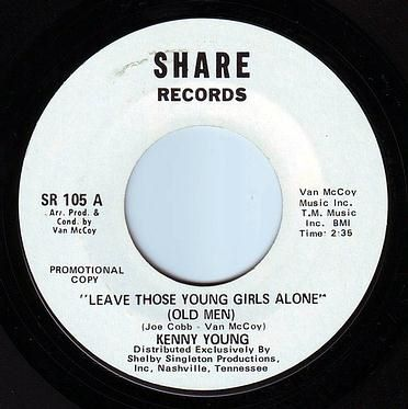 KENNY YOUNG - LEAVE THOSE YOUNG GIRLS ALONE - SHARE DEMO