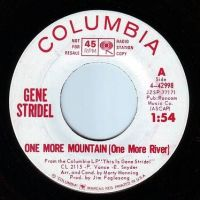 GENE STRIDEL - ONE MORE MOUNTAIN - COLUMBIA DEMO