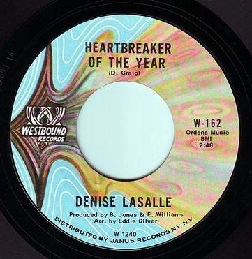 DENISE LA SALLE - HEARTBREAKER OF THE YEAR - WESTBOUND