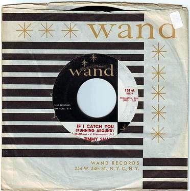 TIMMY SHAW - IF I CATCH YOU (RUNNING AROUND) - WAND