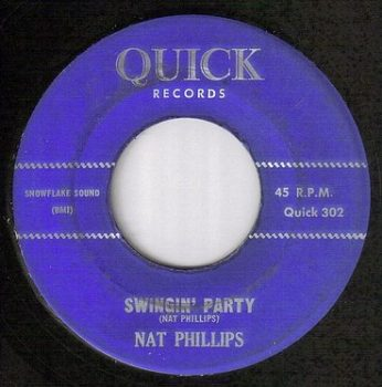 NAT PHILLIPS - SWINGIN' PARTY - QUICK