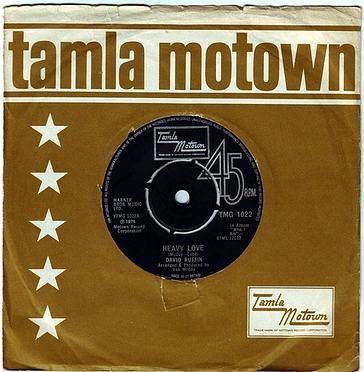 DAVID RUFFIN - HEAVY LOVE - TAMLA MOTOWN
