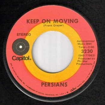 PERSIANS - KEEP ON MOVING - CAPITOL
