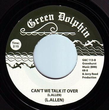 L. ALLEN - CAN'T WE TALK IT OVER - GREEN DOLPHIN