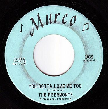 PEERMONTS - YOU GOTTA LOVE ME TOO - MURCO