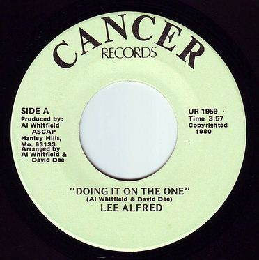 LEE ALFRED - DOING IT ON THE ONE - CANCER
