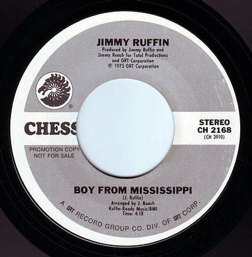 JIMMY RUFFIN - BOY FROM MISSISSIPPI - CHESS DEMO