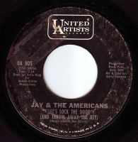 JAY & THE AMERICANS - LET'S LOCK THE DOOR - UA