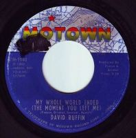 DAVID RUFFIN - MY WHOLE WORLD ENDED - MOTOWN