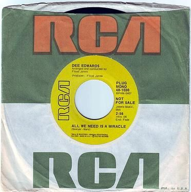 DEE EDWARDS - ALL WE NEED IS A MIRACLE - RCA DEMO