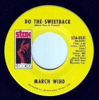 MARCH WIND - DO THE SWEETBACK - STAX