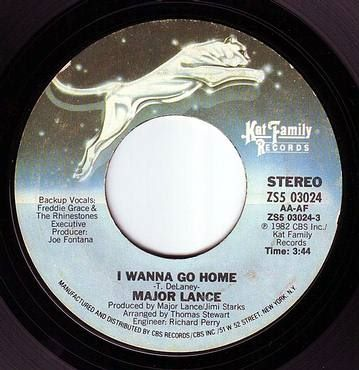 MAJOR LANCE - I WANNA GO HOME - KAT FAMILY