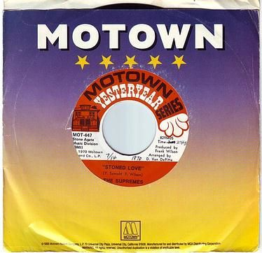 SUPREMES - STONED LOVE - MOTOWN Y.Y.