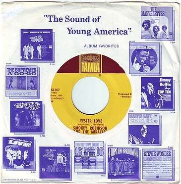 SMOKEY ROBINSON & THE MIRACLES - YESTER LOVE - TAMLA