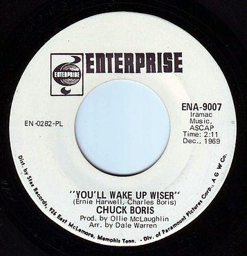 CHUCK BORIS - YOU'LL WAKE UP WISER - ENTERPRISE DEMO